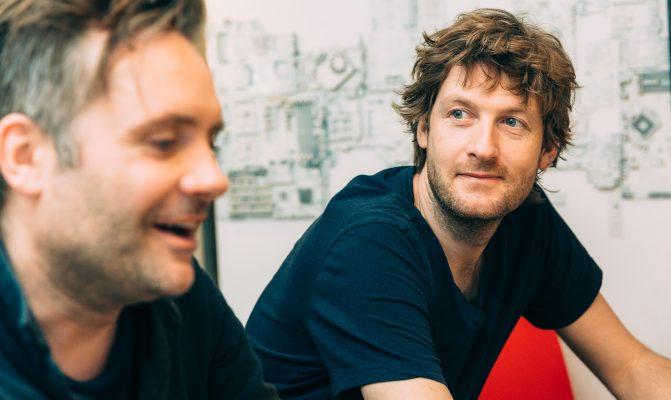 SwapKids: Mikkel Eskesen and Søren Christiansen.