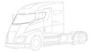 Drawing of Nikola One